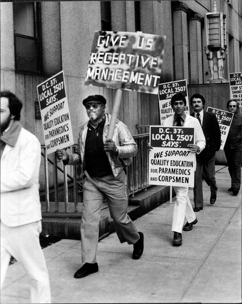EMS Workers Demand Respect 1987