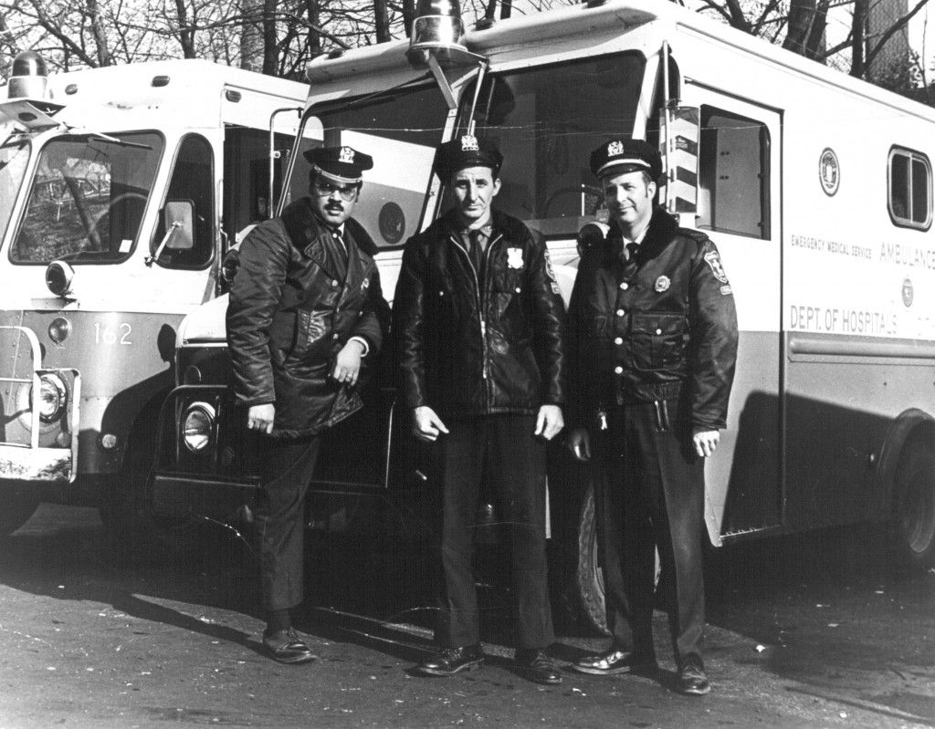 NYC Dept of Hospitals Ambulance Crew